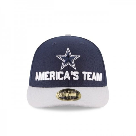 DALLAS COWBOYS SPOTLIGHT LOW PROFILE 59FIFTY FITTED - Sale