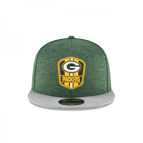 GREEN BAY PACKERS OFFICIAL SIDELINE ROAD KIDS 9FIFTY SNAPBACK - Sale