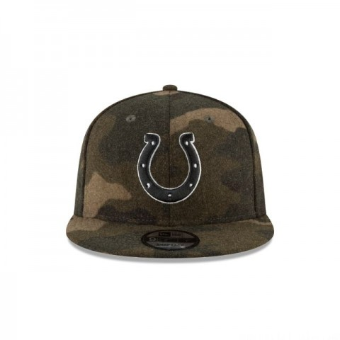 Black Friday Sale INDIANAPOLIS COLTS NFL CAMO MELTON 9FIFTY SNAPBACK