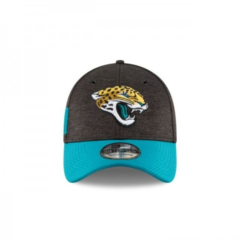 JACKSONVILLE JAGUARS OFFICIAL SIDELINE HOME 39THIRTY STRETCH FIT