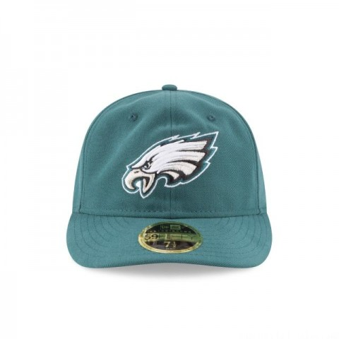 PHILADELPHIA EAGLES FAN FIT RETRO CROWN 59FIFTY FITTED - Sale