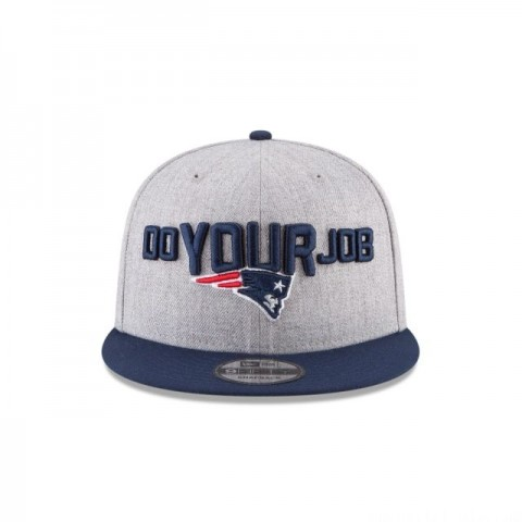 NEW ENGLAND PATRIOTS NFL DRAFT 9FIFTY SNAPBACK - Sale