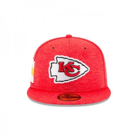 KANSAS CITY CHIEFS OFFICIAL SIDELINE HOME 59FIFTY FITTED