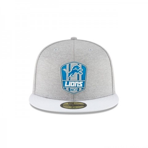 DETROIT LIONS OFFICIAL SIDELINE ROAD 59FIFTY FITTED - Sale