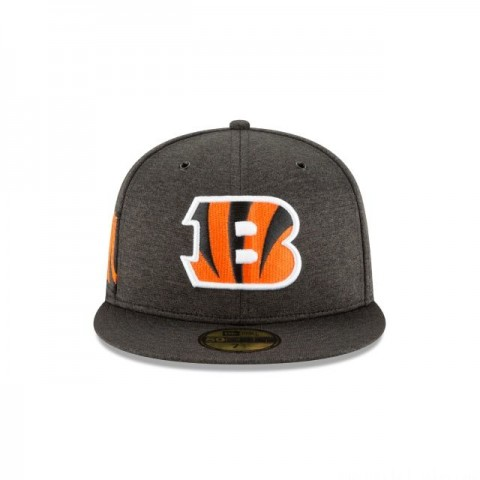 CINCINNATI BENGALS OFFICIAL SIDELINE HOME KIDS 59FIFTY FITTED