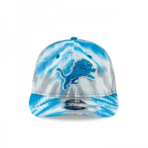 DETROIT LIONS MARBLED RETRO CROWN 9FIFTY SNAPBACK - Sale