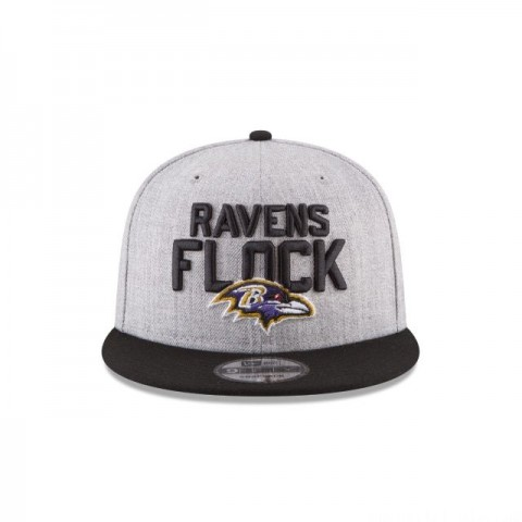 BALTIMORE RAVENS KIDS NFL DRAFT 9FIFTY SNAPBACK - Sale