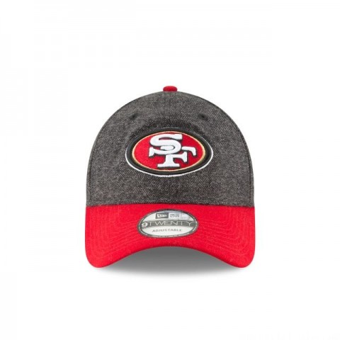 SAN FRANCISCO 49ERS TWEED TURN 9TWENTY ADJUSTABLE