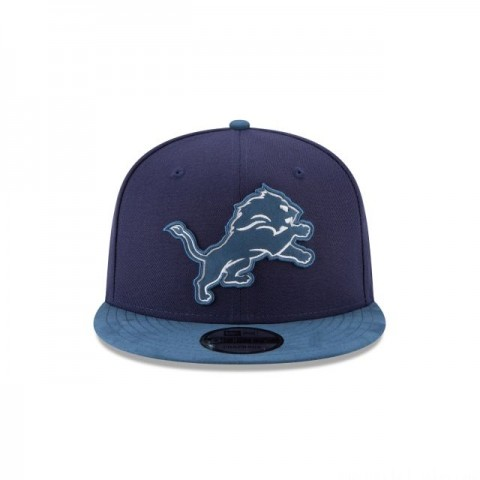 DETROIT LIONS TONAL CHOICE NAVY 9FIFTY SNAPBACK - Sale