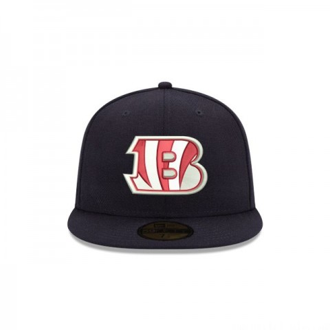 CINCINNATI BENGALS CRAFTED IN THE USA 59FIFTY FITTED