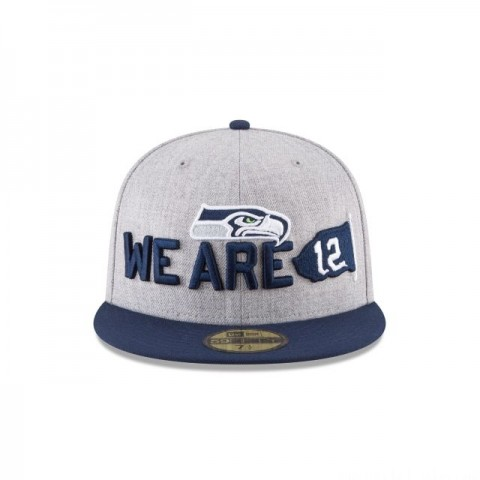 SEATTLE SEAHAWKS NFL DRAFT 59FIFTY FITTED