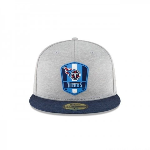 TENNESSEE TITANS OFFICIAL SIDELINE ROAD KIDS 59FIFTY FITTED