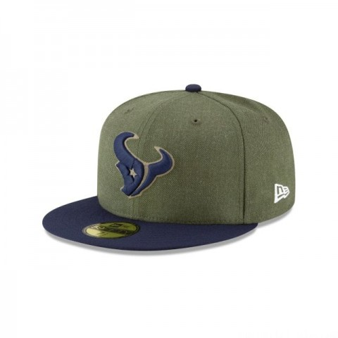 HOUSTON TEXANS SALUTE TO SERVICE 59FIFTY FITTED
