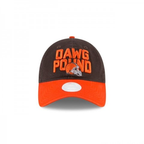 CLEVELAND BROWNS WOMENS SPOTLIGHT 9TWENTY ADJUSTABLE - Sale