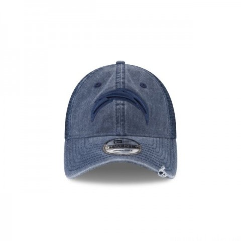 LOS ANGELES CHARGERS TONAL WASHED TRUCKER 9TWENTY ADJUSTABLE - Sale