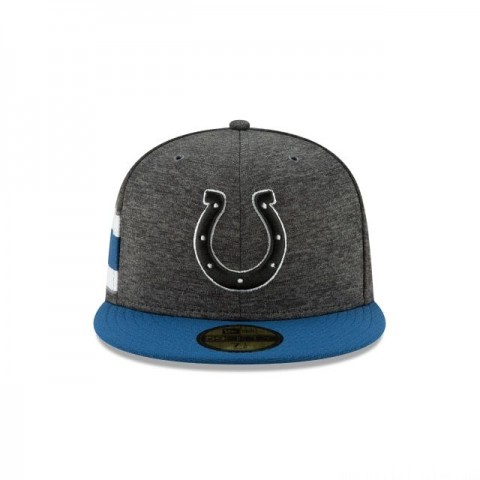 Black Friday Sale INDIANAPOLIS COLTS GRAPHITE SIDELINE HOME 59FIFTY FITTED
