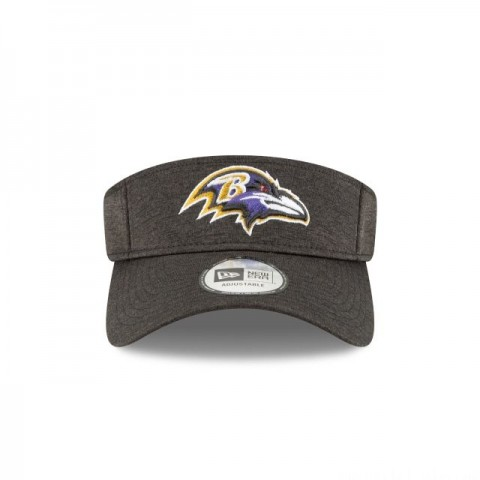 BALTIMORE RAVENS OFFICIAL SIDELINE HOME VISOR - Sale