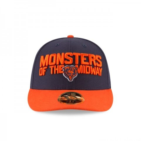 CHICAGO BEARS SPOTLIGHT LOW PROFILE 59FIFTY FITTED