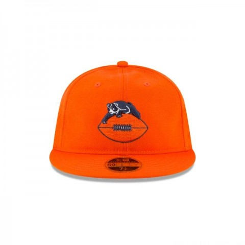 CHICAGO BEARS WOOL RETRO CROWN 59FIFTY FITTED