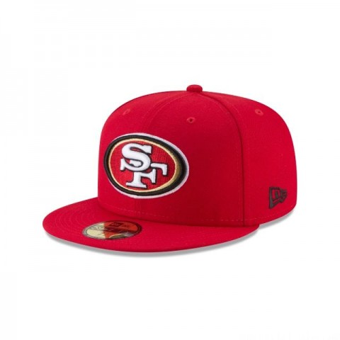 SAN FRANCISCO 49ERS TITLE TRIM 59FIFTY FITTED