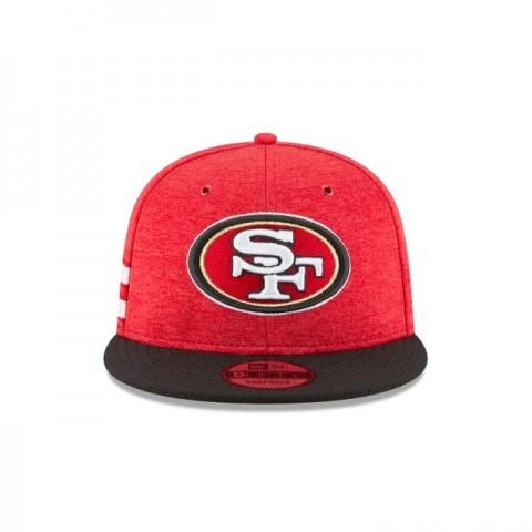 SAN FRANCISCO 49ERS OFFICIAL SIDELINE HOME 9FIFTY SNAPBACK
