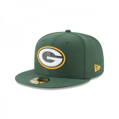 GREEN BAY PACKERS TITLE TRIM 59FIFTY FITTED