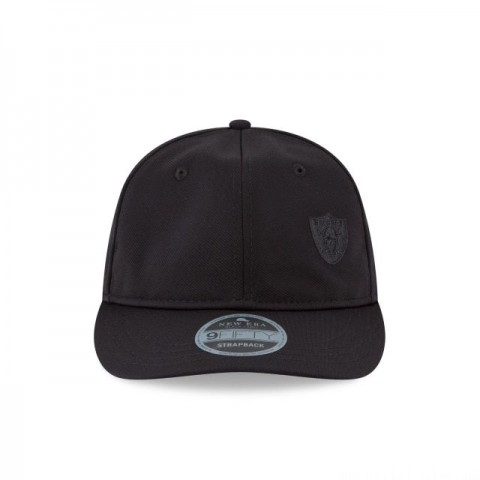 OAKLAND RAIDERS FLAWLESS RETRO CROWN 9FIFTY STRAPBACK - Sale