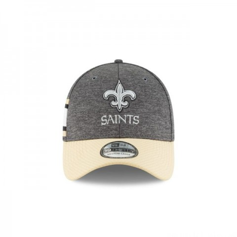 NEW ORLEANS SAINTS NFL SIDELINE HOME 39THIRTY STRETCH FIT