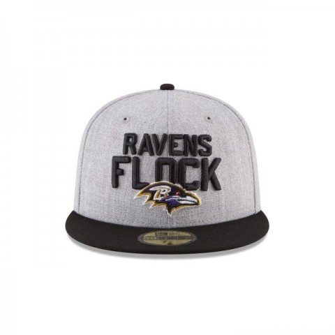 BALTIMORE RAVENS NFL DRAFT 59FIFTY FITTED