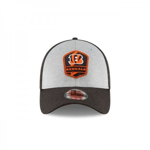 CINCINNATI BENGALS OFFICIAL SIDELINE ROAD 39THIRTY STRETCH FIT