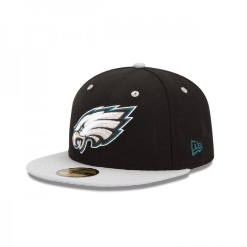 PHILADELPHIA EAGLES 2TONE 59FIFTY FITTED - Sale