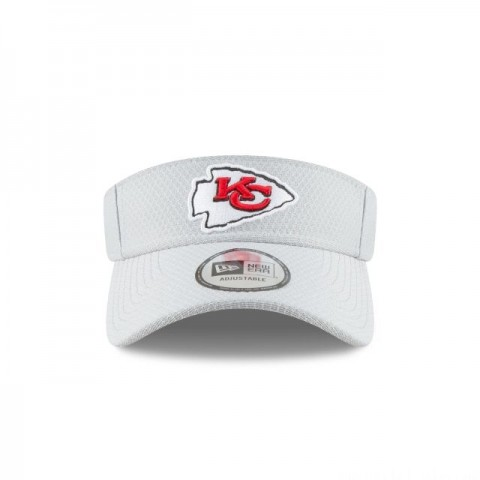 KANSAS CITY CHIEFS NFL TRAINING VISOR
