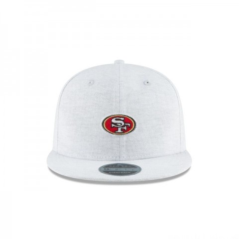 SAN FRANCISCO 49ERS MICRO STITCH 9FIFTY SNAPBACK
