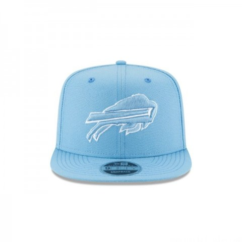 BUFFALO BILLS SKY BLUE HIGH CROWN 9FIFTY SNAPBACK - Sale