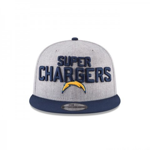 LOS ANGELES CHARGERS NFL DRAFT 9FIFTY SNAPBACK - Sale