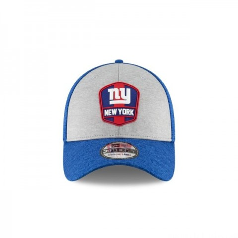 NEW YORK GIANTS OFFICIAL SIDELINE ROAD 39THIRTY STRETCH FIT