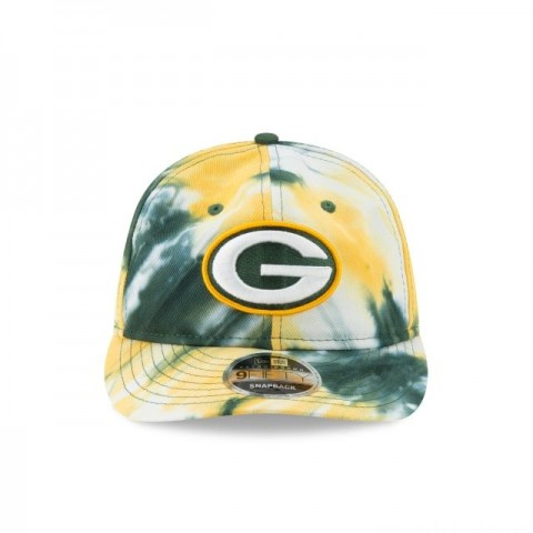 GREEN BAY PACKERS MARBLED RETRO CROWN 9FIFTY SNAPBACK - Sale