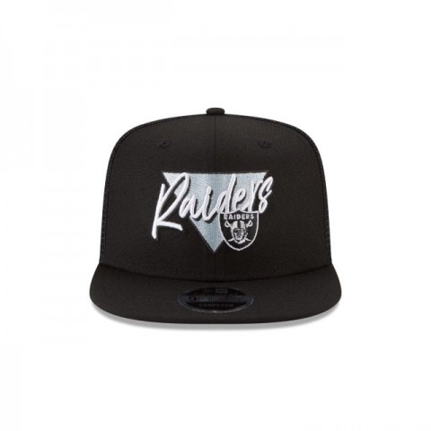OAKLAND RAIDERS FRESH FRONT HIGH CROWN 9FIFTY SNAPBACK