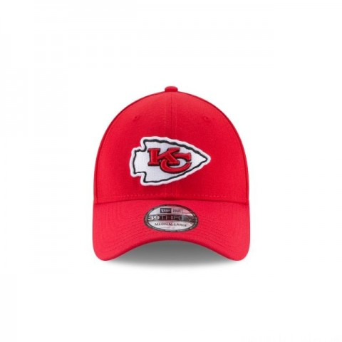 KIDS KANSAS CITY CHIEFS TEAM CLASSIC 39THIRTY STRETCH FIT