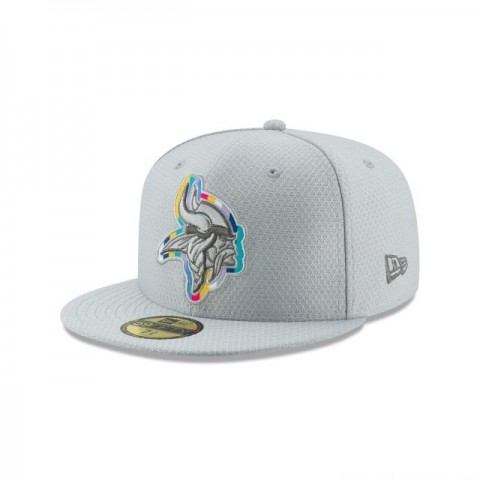 MINNESOTA VIKINGS CRUCIAL CATCH 59FIFTY FITTED - Sale