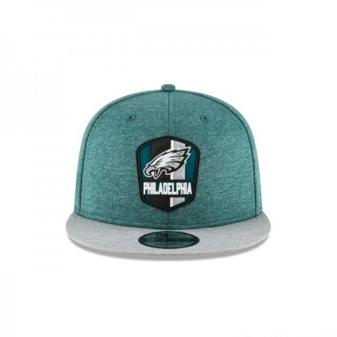 PHILADELPHIA EAGLES OFFICIAL SIDELINE ROAD 9FIFTY SNAPBACK - Sale