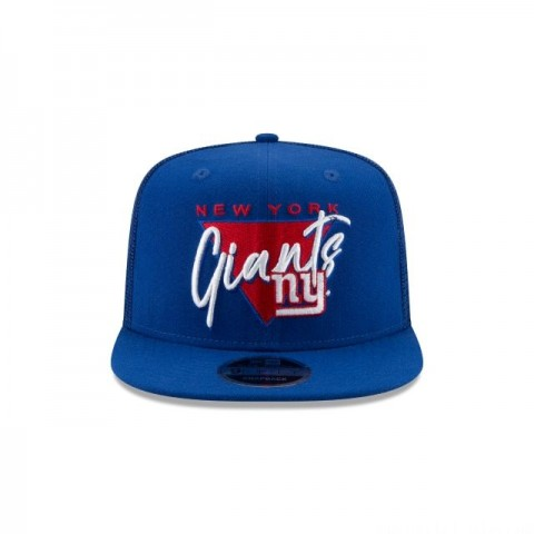 NEW YORK GIANTS FRESH FRONT HIGH CROWN 9FIFTY SNAPBACK