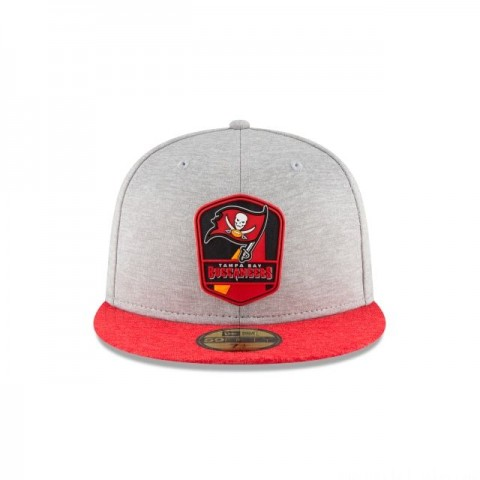 TAMPA BAY BUCCANEERS OFFICIAL SIDELINE ROAD KIDS 59FIFTY FITTED