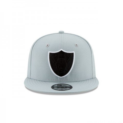 OAKLAND RAIDERS NFL LOGO ELEMENTS 9FIFTY SNAPBACK - Sale