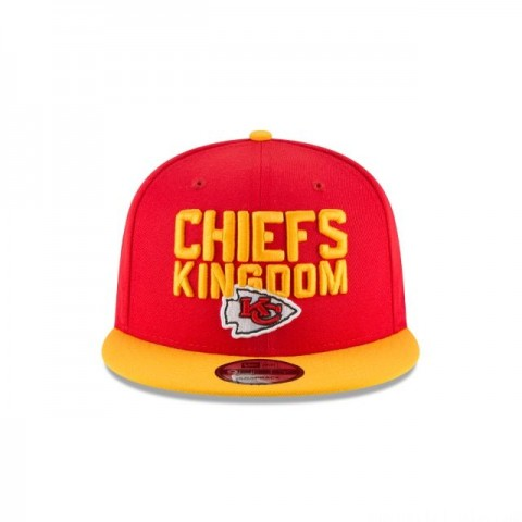 KANSAS CITY CHIEFS KIDS SPOTLIGHT 9FIFTY SNAPBACK