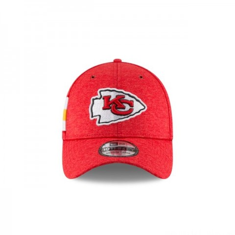 KANSAS CITY CHIEFS OFFICIAL SIDELINE HOME 39THIRTY STRETCH FIT
