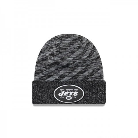 NEW YORK JETS BLACK COLD WEATHER TOUCHDOWN KNIT