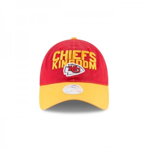 KANSAS CITY CHIEFS WOMENS SPOTLIGHT 9TWENTY ADJUSTABLE