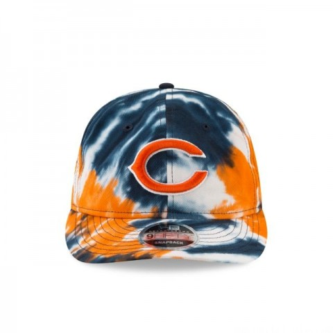 CHICAGO BEARS MARBLED RETRO CROWN 9FIFTY SNAPBACK