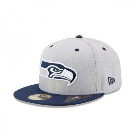 SEATTLE SEAHAWKS 2TONE 59FIFTY FITTED